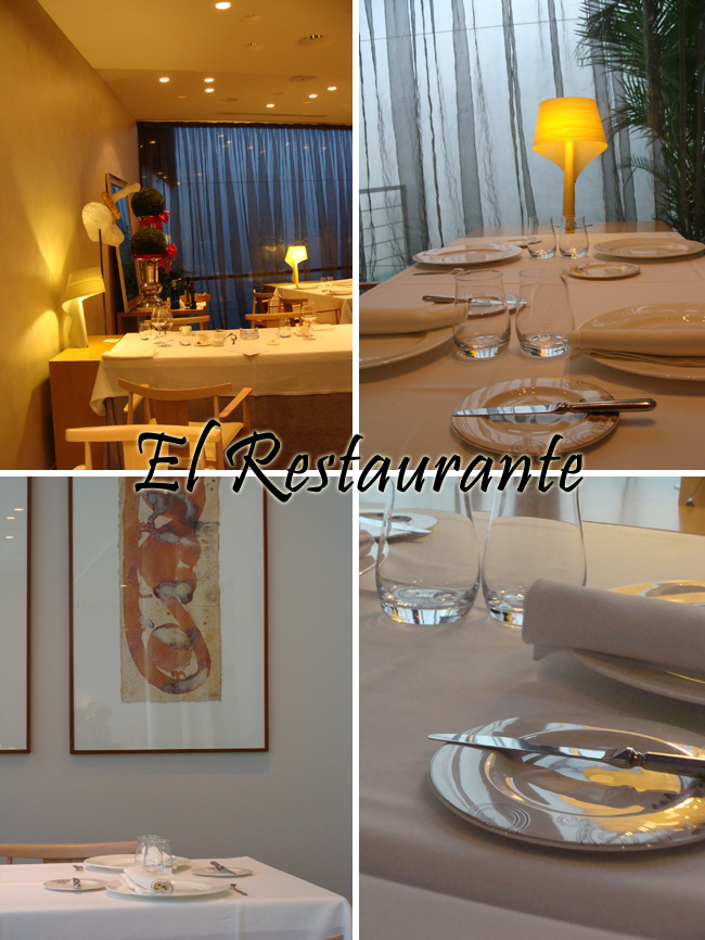 Restaurante cal l 39 arpa michelin for Vajilla para restaurante
