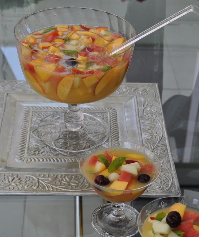 C ctel de frutas - Como hacer coctel de frutas ...
