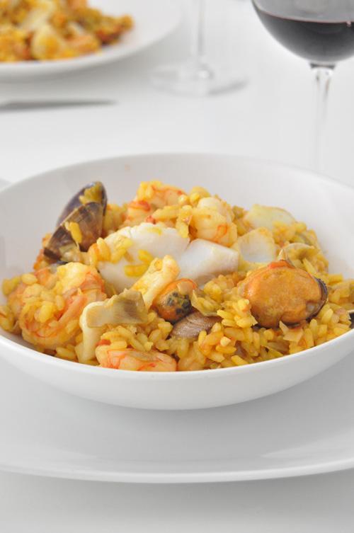 arroz con bacalao enriquecido