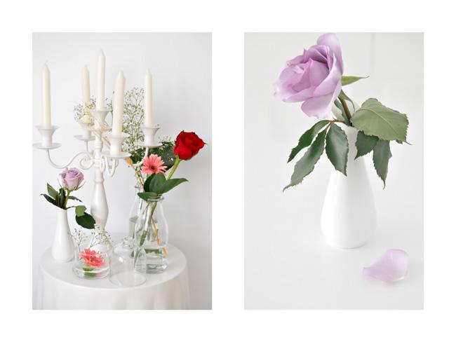 Decorar con rosas