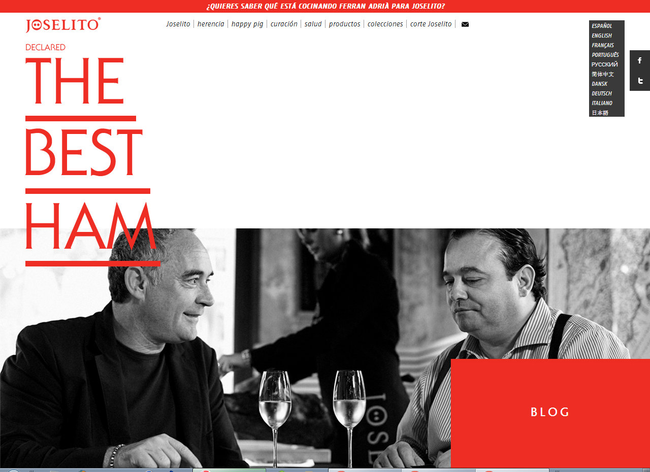 Ferran Adriá y Joselito