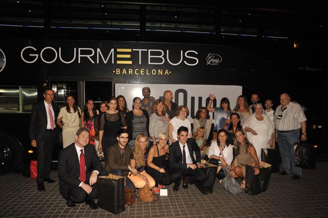 gourmet bus