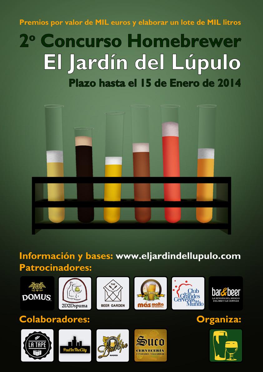 2 concurso homebrewer el jard n del l pulo for El jardin del lupulo
