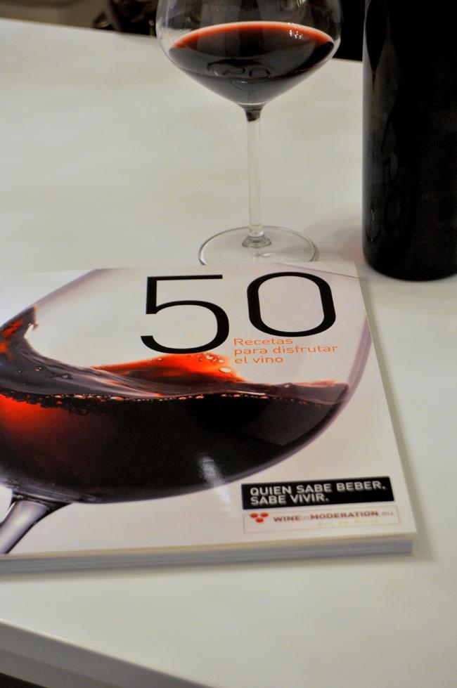 50 recetas para disfrutar del vino