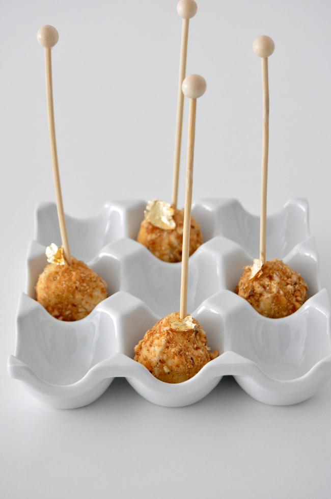 Bombon de queso de cabra