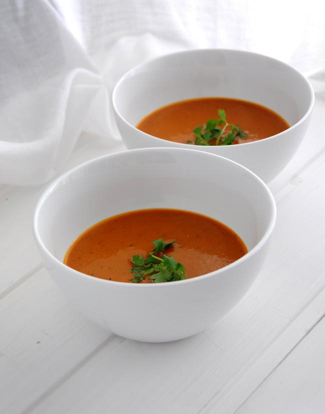 sopa de tomate Bal Arneson
