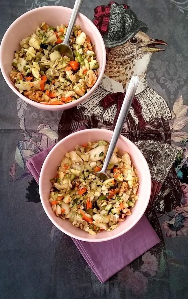 ensalada de alcachofas de Benicarlo