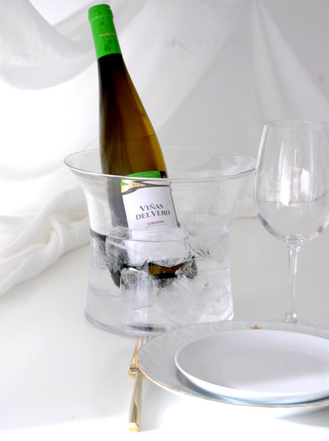 Cata de vino Somontano en El Petit Celler con bloggers de Barcelona
