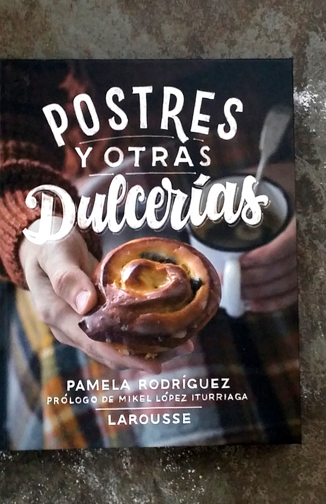 libro de postres Pamela Rodriguez
