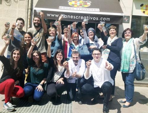 Día Mundíal del Cáncer de Ovario Pan solidario de Daniel Jordá & Oriol Balaguer