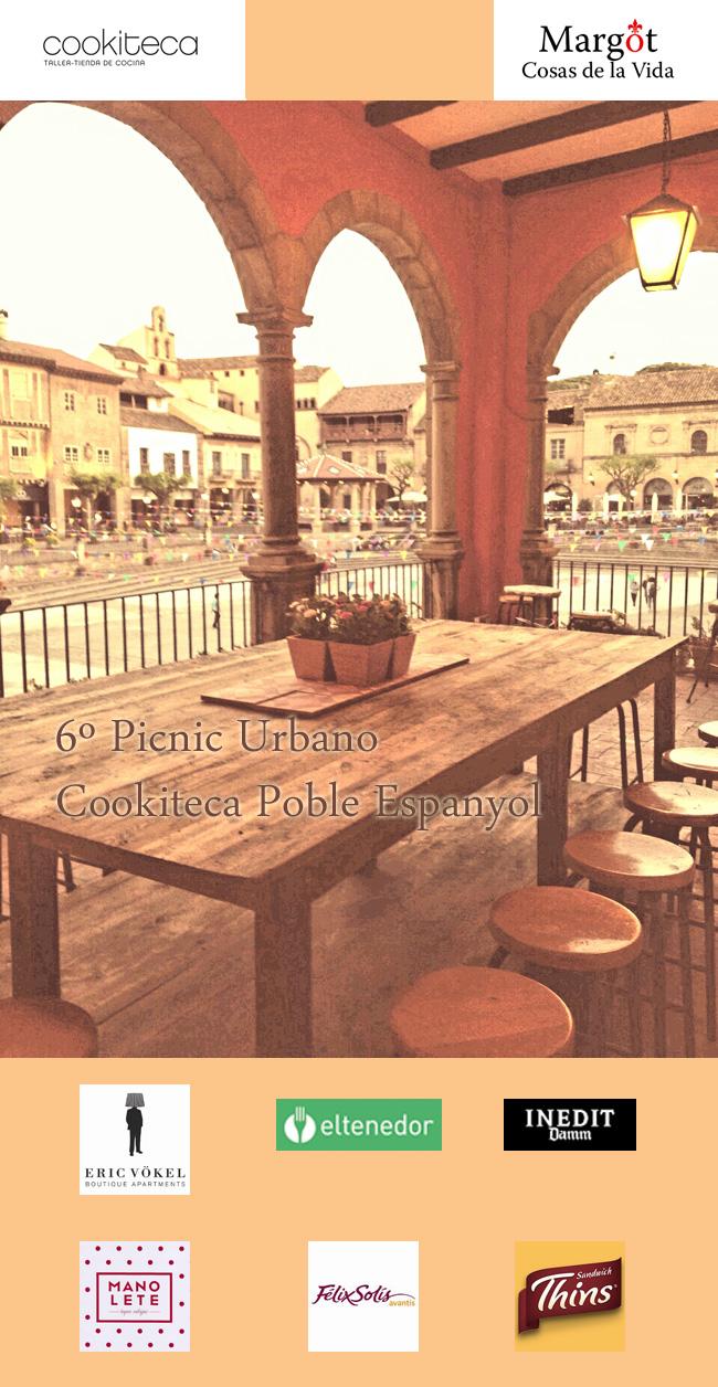 Picnic Urbano Cookiteca Poble Espanyol - Sponsors