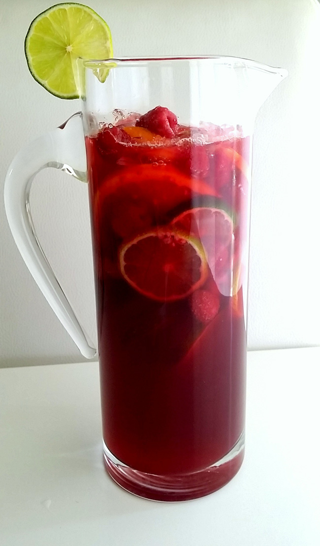 bebida de arandanos