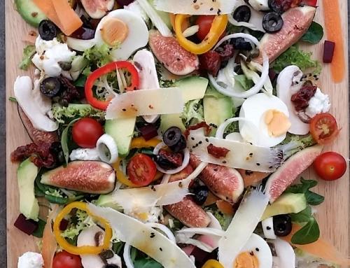 Las ensaladas son para el verano