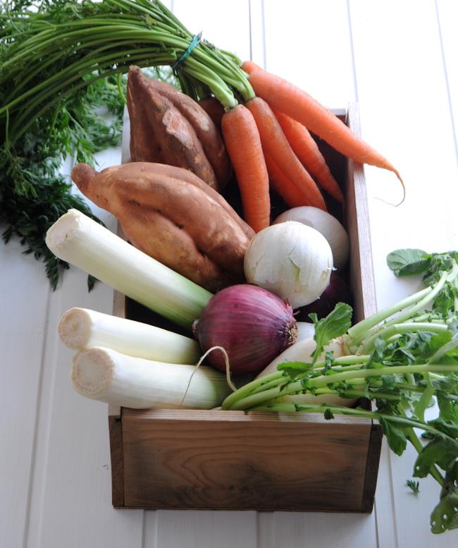 verduras caldo depurativo