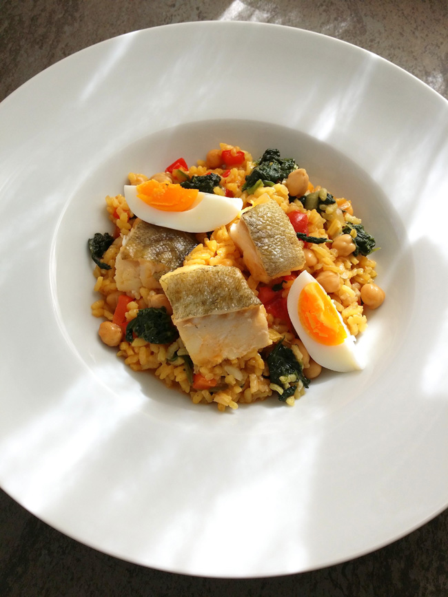 arroz de Cuaresma