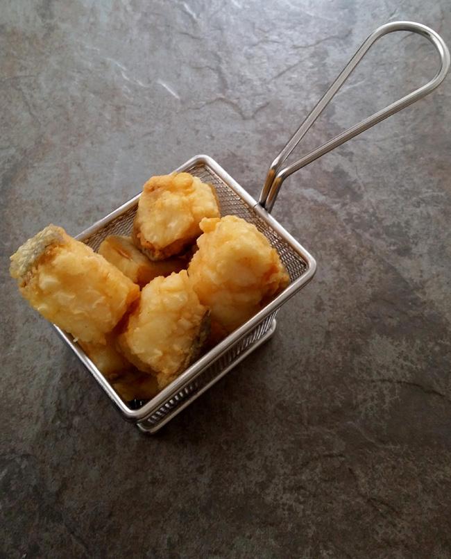 fritura de bacalao