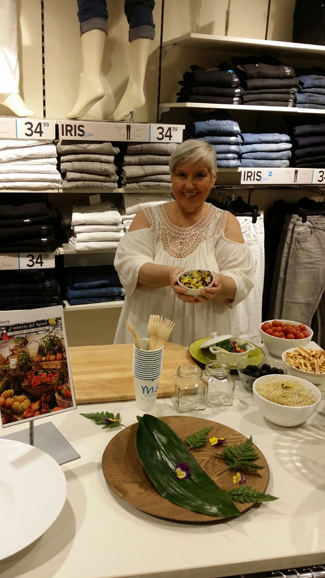 Showcooking en M&S Mode