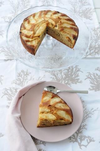 Tarta de manzana y especias