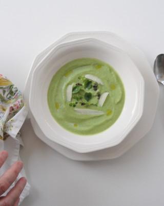 Brócoli con anacardos y parmiggiano